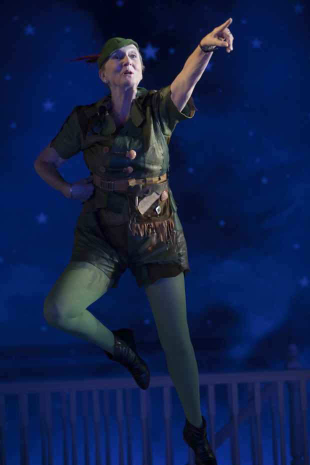 Kathleen Chalfant as Ann in For Peter Pan on her 70th birthday by Sarah Ruhl.