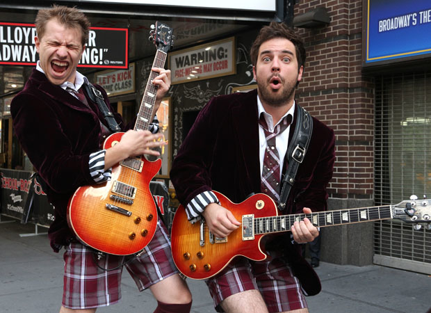 Conner John Gillooly and Justin Collette will share the role of Dewey Finn in School of Rock on Broadway.