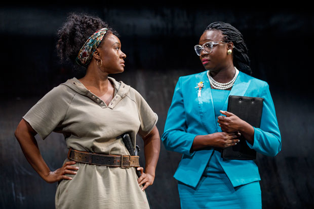 Saycon Sengbloh and Jocelyn Bioh share a scene.
