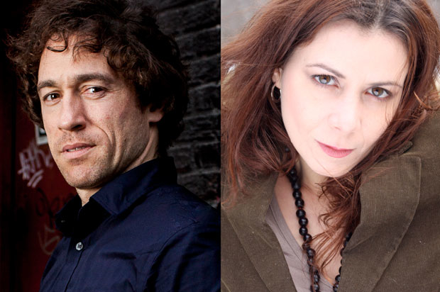 Lui Carlos de la Lombana (left) and Zulema Clares (right) will star in Repertorio Español's production of 17th-century playwright Ana Caro's Valor, Agravio y Mujer.
