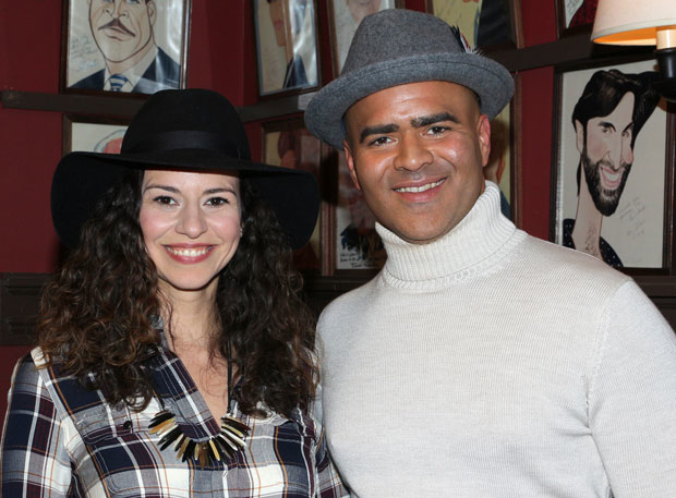 Mandy Gonzalez and Christopher Jackson will duet on one of the tracks of Gonzalez's upcoming debut album, Fearless.