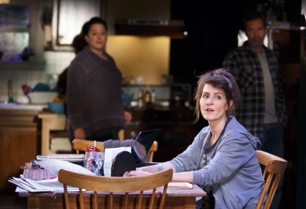 Nia Vardalos wrote and starred in Tiny Beautiful Things at the Public Theater last year, and will return with the production this fall.