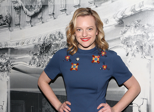 Elisabeth Moss is a 2017 Emmy winner for The Handmaid's Tale.