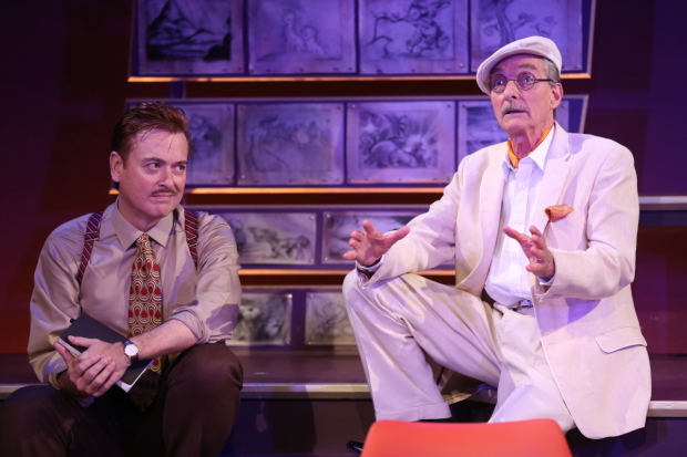 Mark Shanahan and Stephen D'Ambrose in Small World at 59E59 Theaters.