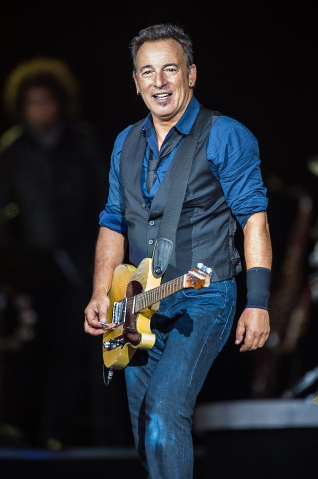 Nine front row center seats will be made available for blind auction for the opening night of Springsteen on Broadway October 12.