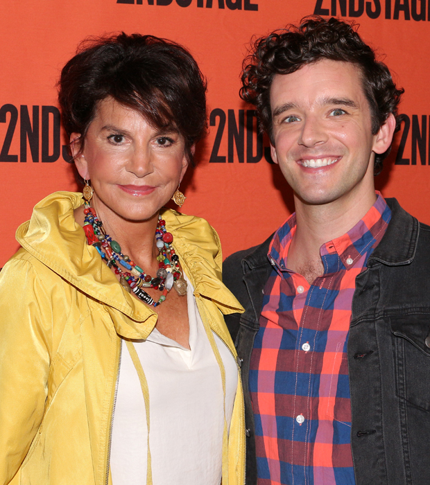 Mercedes Ruehl and Michael Urie play mother and son in Torch Song.