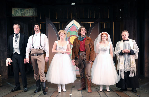 Desperate Measures, directed by Bill Castellino, at York Theatre Company is a new take on Shakespeare's Measure for Measure