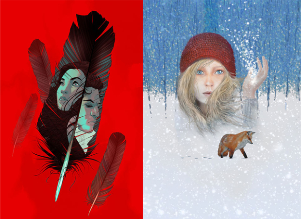 Show posters for Sovereignty and Snow Child.