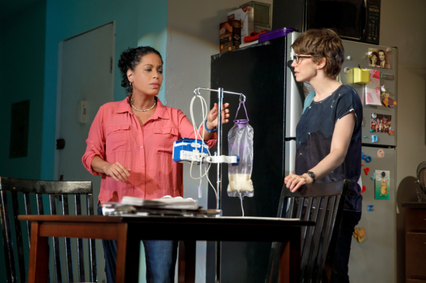 Mary Jane, by Amy Herzog, features Liza Colón-Zayas and Carrie Coon.