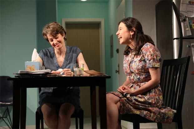 Carrie Coon and Susan Pourfar in a scene from Mary Jane.