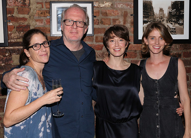 Anne Kauffman, Carrie Coon, and Amy Herzog are joined by Coon's husband, playwright/actor Tracy Letts.