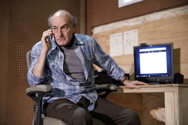 Peter Friedman plays the Son in The Treasurer at Playwrights Horizons.