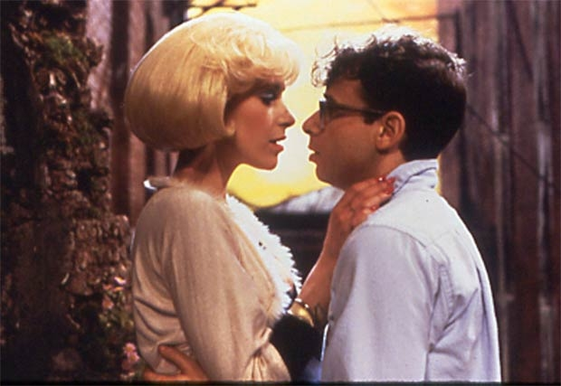 Rick moranis and Ellen Greene in Little Shop of Horrors.