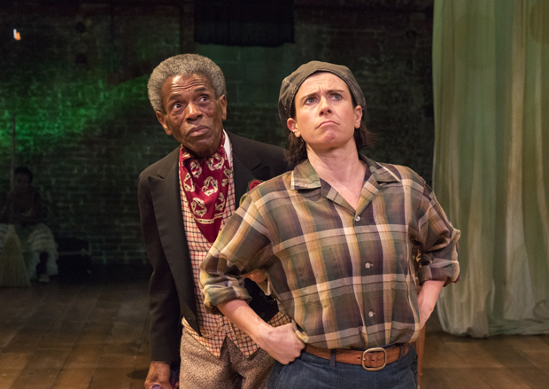 André De Shields and Hannah Cabell star in William Shakespeare's As You Like It, directed by John Doyle, at Classic Stage Company.