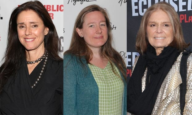 Julie Taymor and Sarah Ruhl will collaborate on a new film about Gloria Steinem.