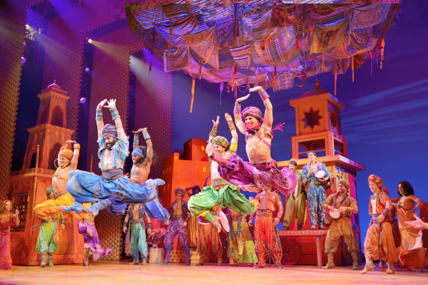 The touring production of Broadway's Aladdin will participate in the 2017-18 National Education and Engagement Grant program.