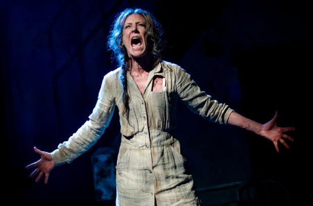 Christine Lahti stars as Hester Smith in Suzan-Lori Parks's F**king A at the Pershing Square Signature Center.