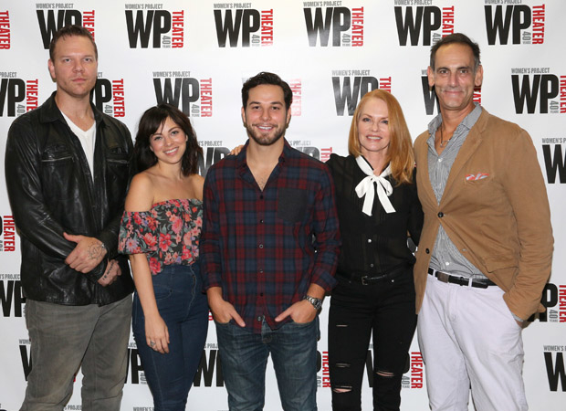 Jim Parrack, Krysta Rodriguez, Skylar Astin, Marg Helgenberger, and Damian Young star in What We're Up Against, directed by Adrienne-Campbell-Holt, at WP Theater.