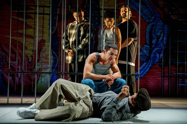 A scene from Oedipus El Rey, directed by Chay Yew, at the Public Theater.