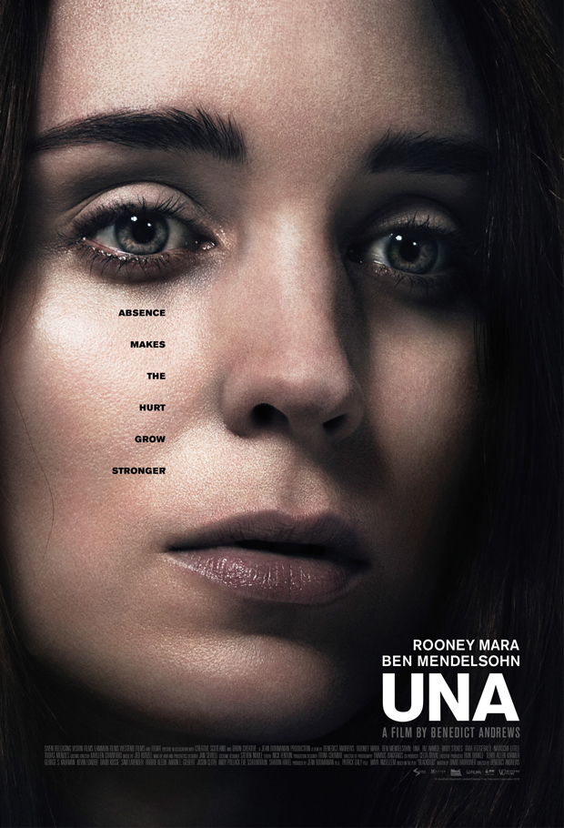 Una is out in theaters now.
