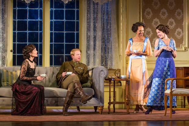 Elizabeth McGovern, Matthew James Thomas, Cara Ricketts, and Anna Camp star in the Broadway revival of J.B. Priestley's Time and the Conways, directed by Rebecca Taichman, for Roundabout Theatre Company at the American Airlines Theatre.