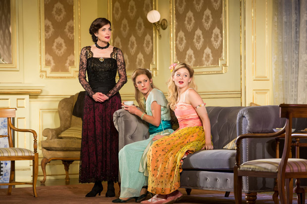 Elizabeth McGovern, Charlotte Parry, and Anna Baryshnikov star in Time and the Conways.