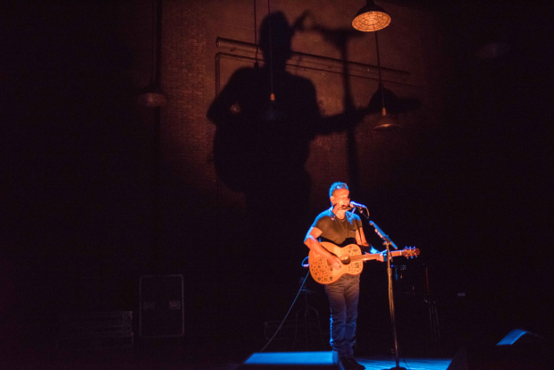 Lighting design for Springsteen on Broadway is by Natasha Katz.