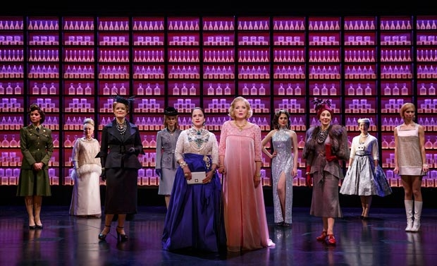Patti LuPone, Christine Ebersole, and the Broadway cast of War Paint.