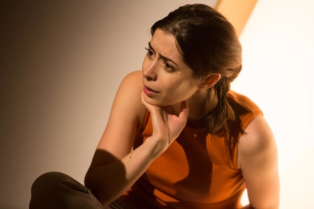 Cristin Miloti leads the cast of After the Blast, directed by Lila Neugebauer, at Lincoln Center's Claire Tow Theater.