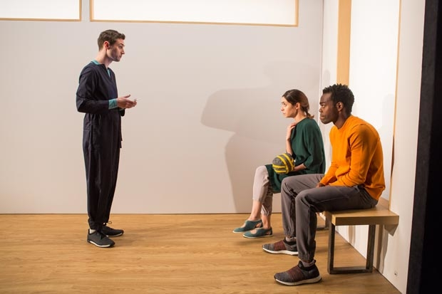 Will Conolly, Cristin Milioti, and William Jackson Harper star in After the Blast, opening October 23 at Lincoln Center.