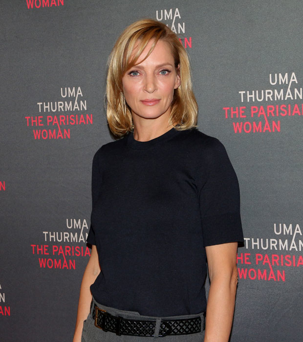 Uma Thurman makes her Broadway debut in The Parisian Woman, directed by Pam MacKinnon, at the Hudson Theatre.