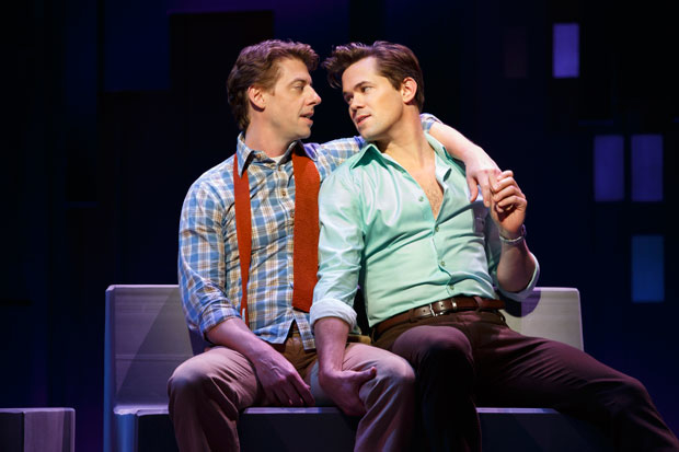 Falsettos, starring Christian Borle and Andrew Rannells (pictured above), is one of BroadwayHD's many streaming offerings that will be more widely available to customers after new deals with Amazon and Ericsson.