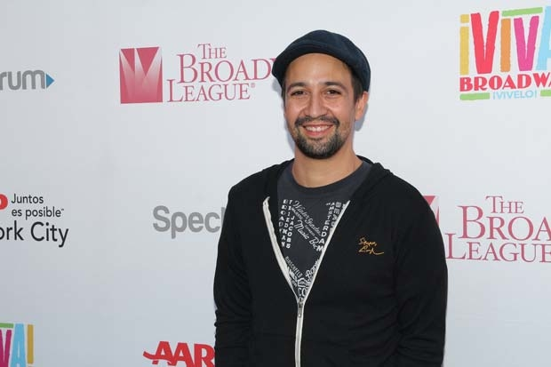 """Lin-Manuel Miranda is the author of the new single """"Almost Like Praying."""""""