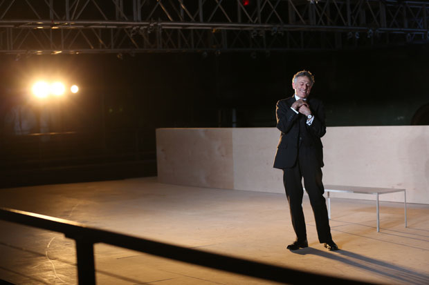 David Greenspan performs all nine characters of Eugene O'Neill's Strange Interlude.