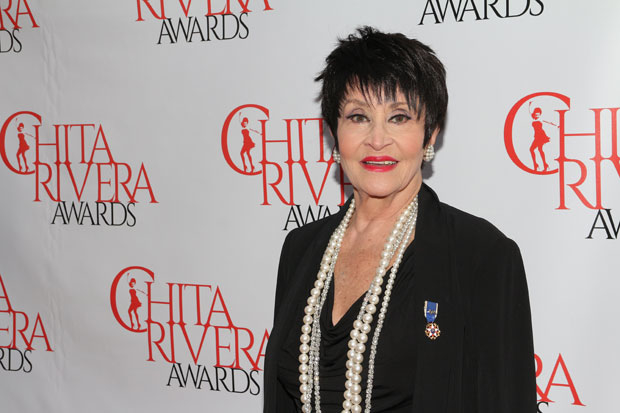 Chita Rivera will perform as part of Steppenwolf's LookOut Series.