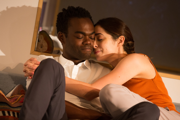 William Jackson Harper plays Oliver and Cristin Milioti plays Anna in After the Blast.