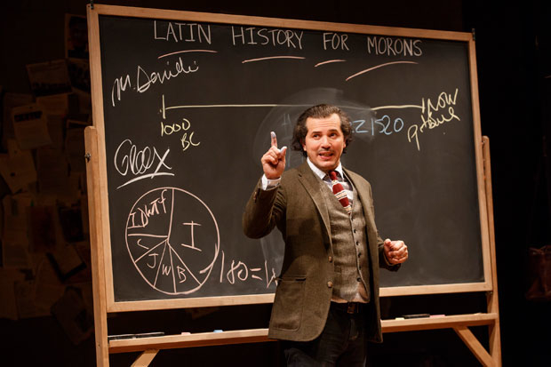 John Leguizamo in the off-Broadway production of Latin History for Morons.