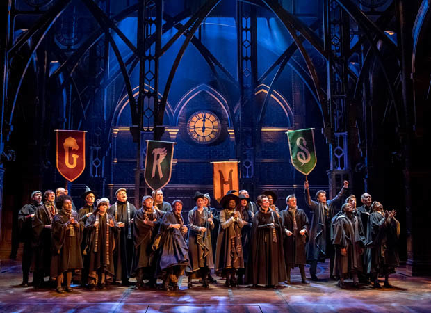 A scene from the West End production of Harry Potter and the Cursed Child.