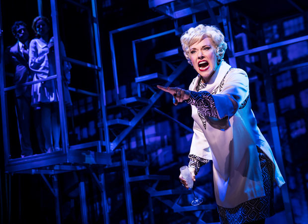 Emily Skinner in the Company sequence of Prince of Broadway.