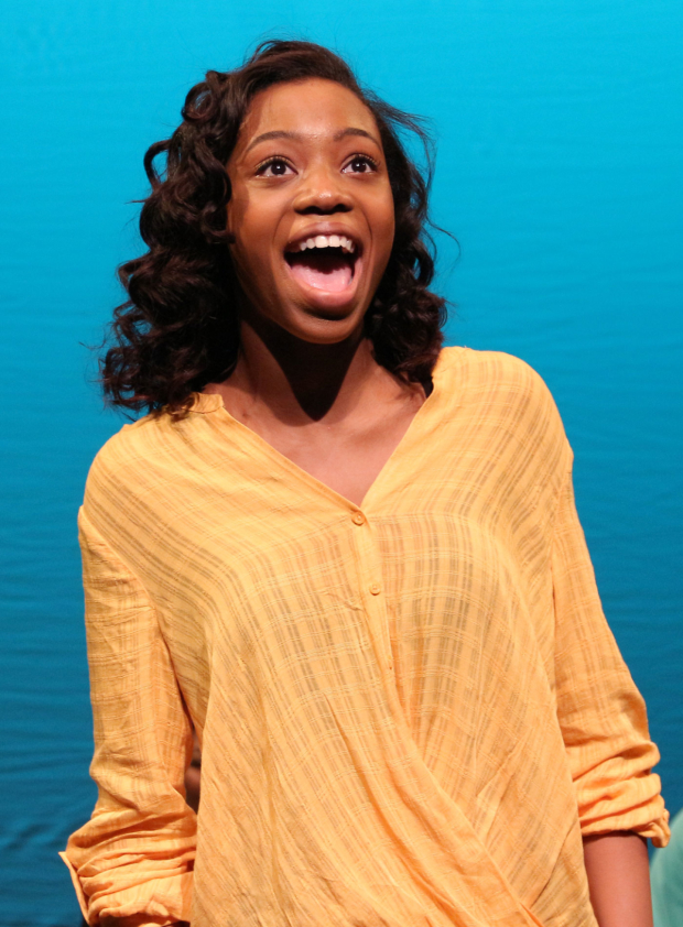 Hailey Kilgore stars in the new Broadway revival of Once On This Island.