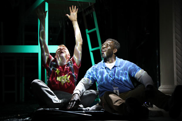 Andrew Duff and Oberon K.A. Adjepong star in Uncommon Sense, directed by Andy Paris, at the Sheen Center.