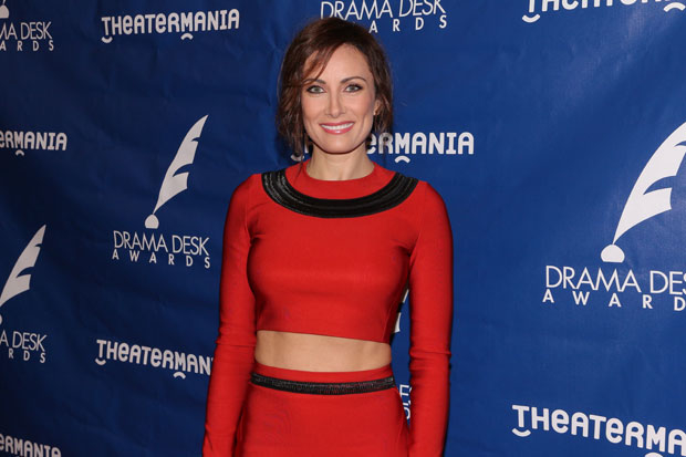 Laura Benanti stars in Steve Martin's Meteor Shower.