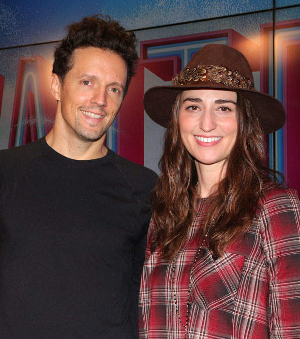 """Jason Mraz collaborated with Sara Bareilles for her album """"What's Inside: Songs From Waitress."""