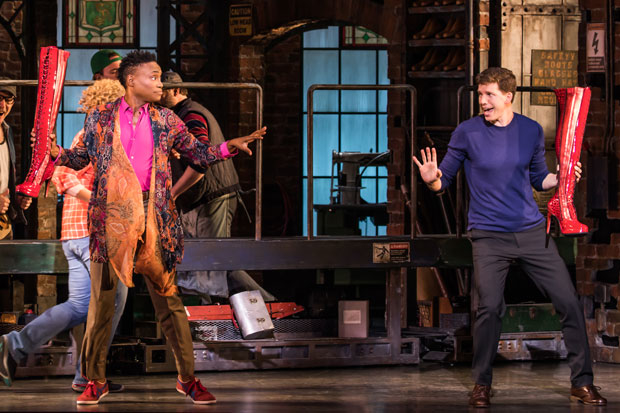Billy Porter and Stark Sands return to Broadway's Kinky Boots.
