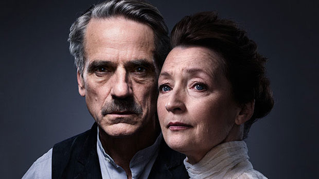 Jeremy Irons and Lesley Manville star in the Bristol Old Vic production of Long Day's Journey Into Night, which is set to make its U.S. premiere at Brooklyn Academy of Music in May 2018.