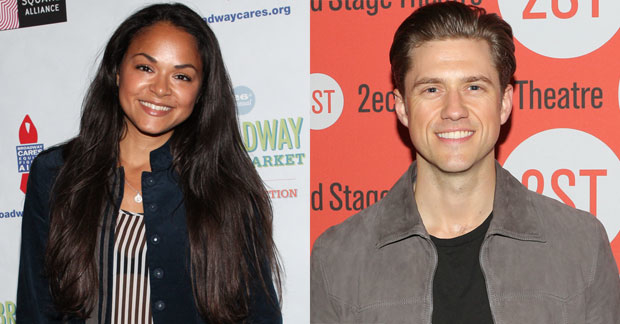 Karen Olivo and Aaron Tveit will star in a lab of Moulin Rouge! The Musical.