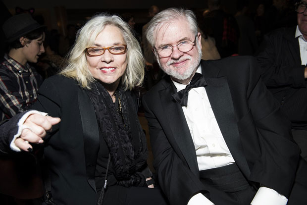 Marsha Norman was honored by Christopher Durang at the 17th Annual 24 Hour Plays.