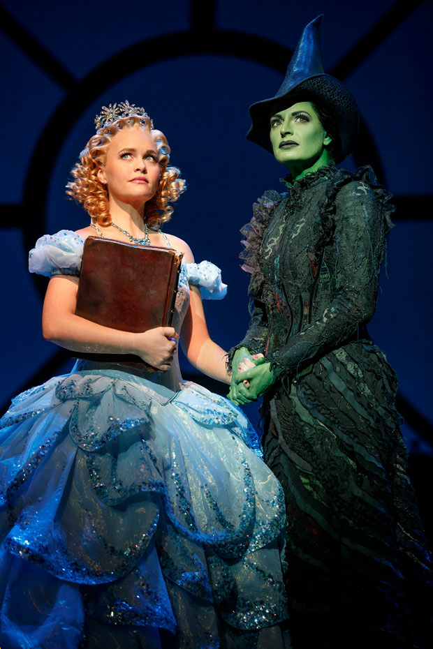 Cast members from Broadway's Wicked will perform on November 27 as part of this year's Broadway Under the Stars series.