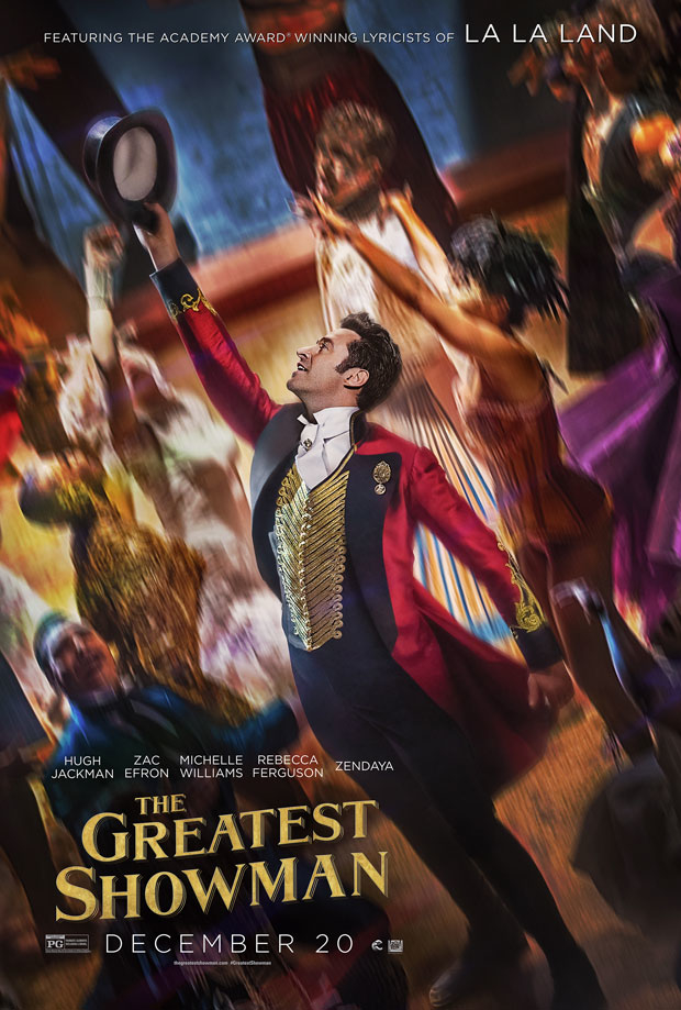 The Greatest Showman features lyrics from Tony-winner Pasek and Paul.