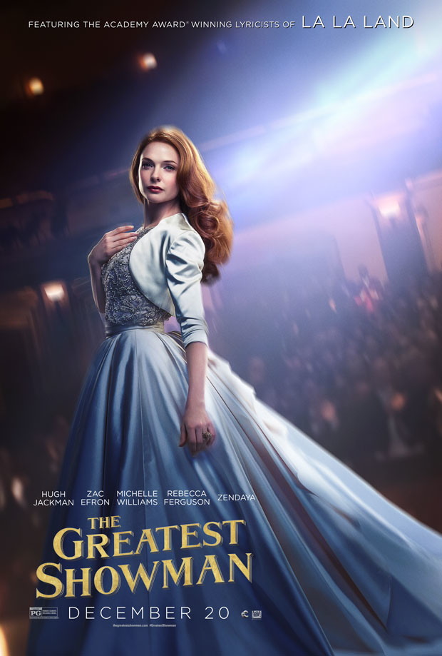 Rebecca Ferguson as Jenny Lind is highlighted in this new poster.